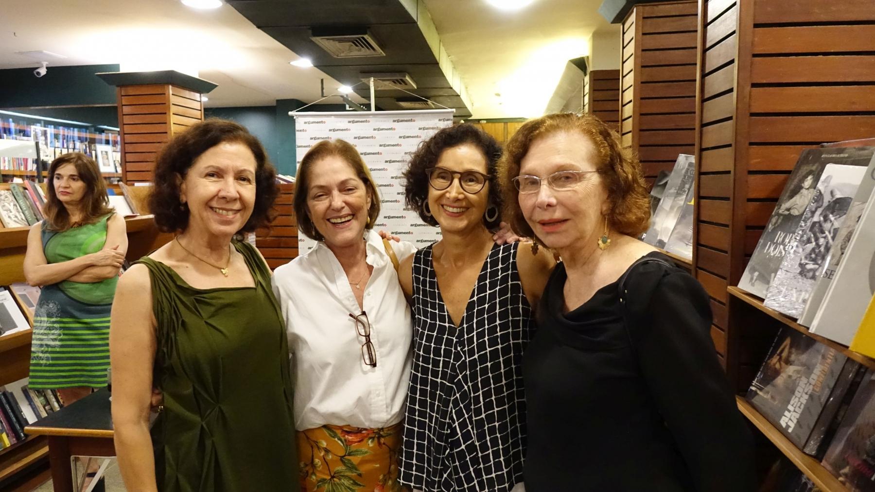 Ana Muglia, Analu Nabuco, Valeria Costa Pinto e Lia do Rio