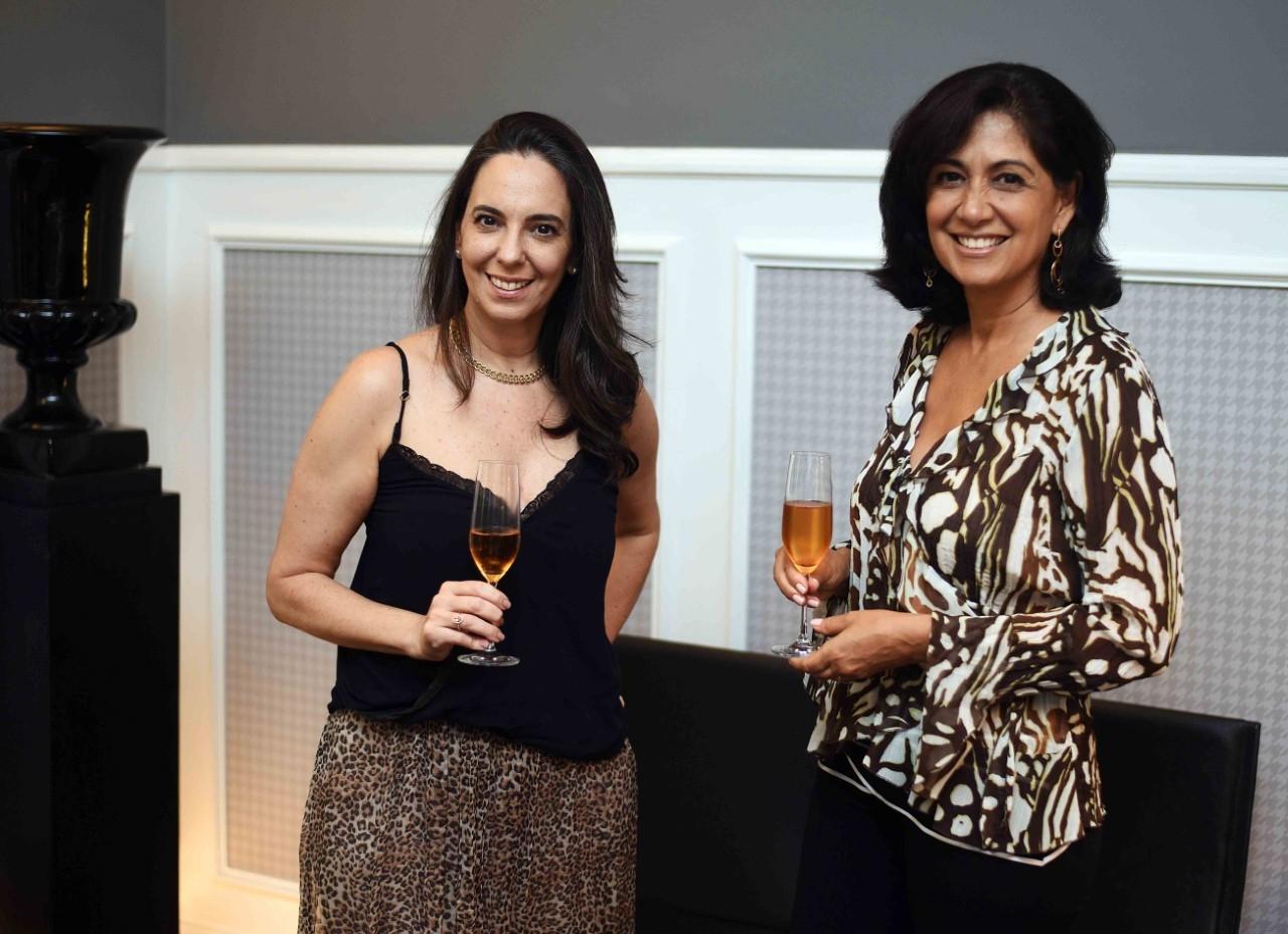 Adriana Canton e Iolanda Vieira