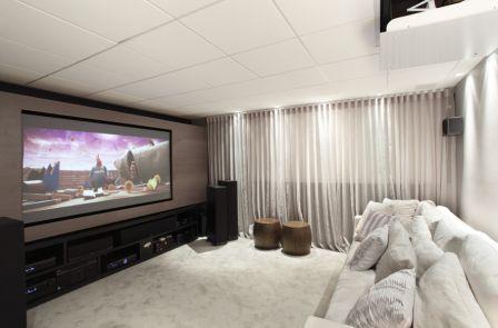 Definitive mostra novo sistema de automação para home theaters