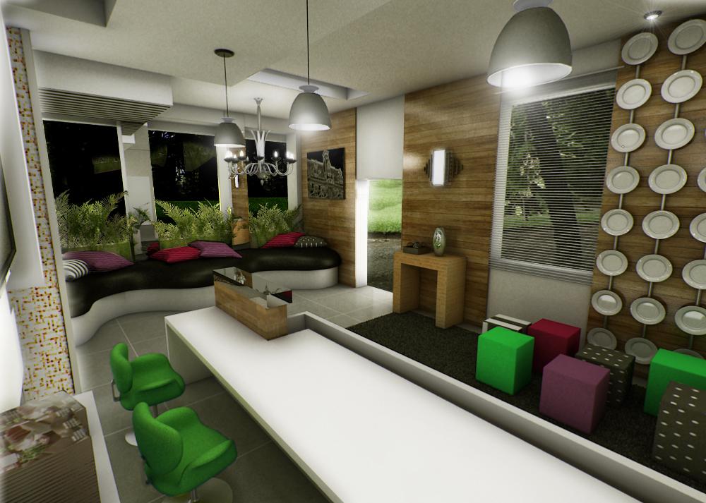 Bilheteria-lounge no Casa Cor