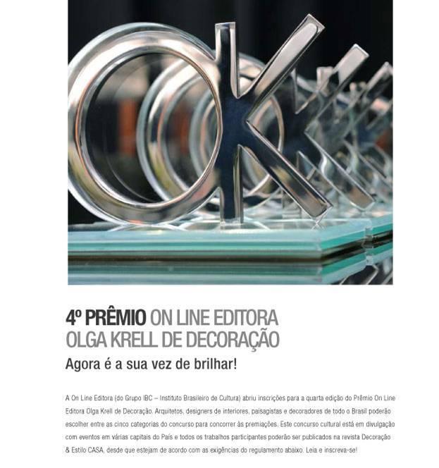 4º Prêmio Olga Krell de Decoração