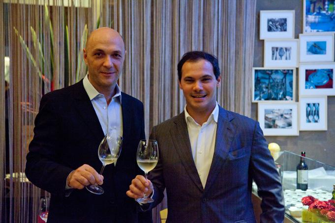 Jantar dos chefs Dionísio Chaves e Nicola Giorgio no Casa Cor Rio