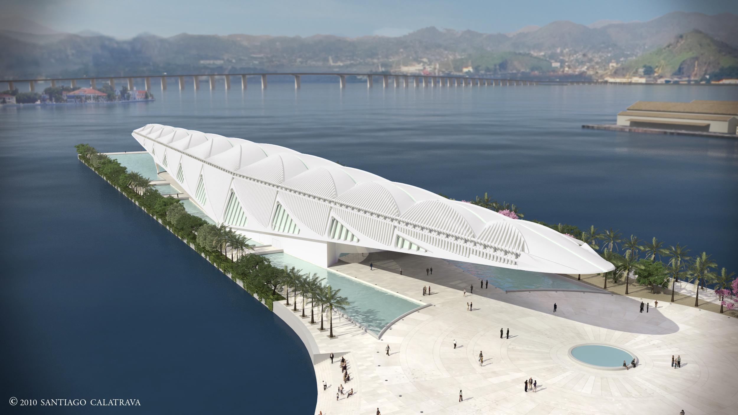 Porto Maravilha: Prefeitura dá início às obras do prédio do Museu do Amanhã
