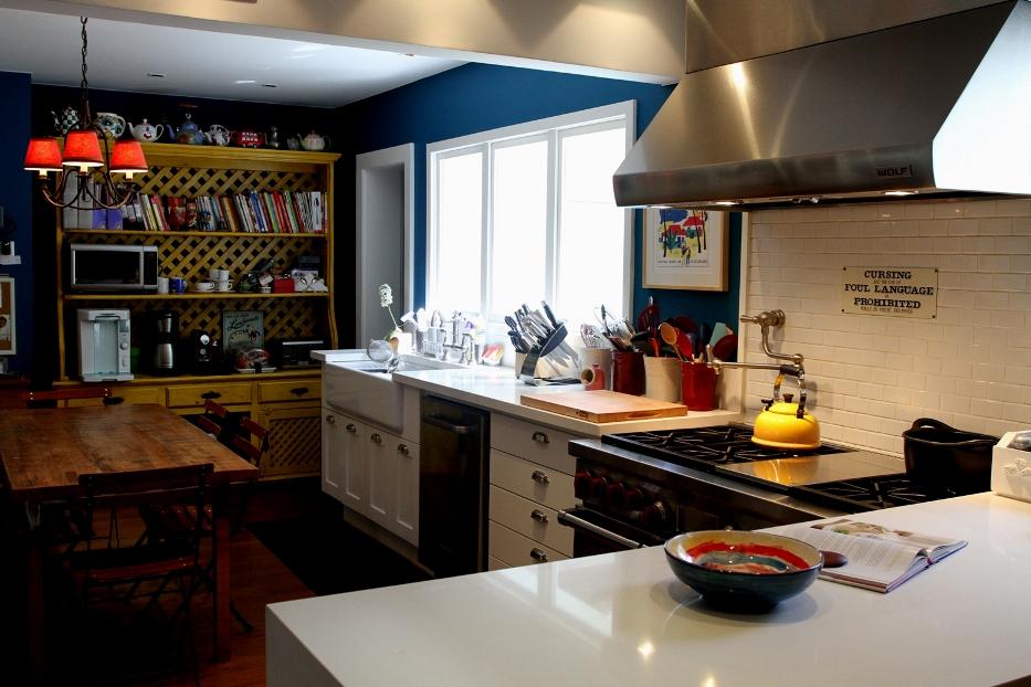 Que cozinha!