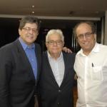 Carlos Alberto e Gilberto Chateaubriand e Luiz Camillo Osorio