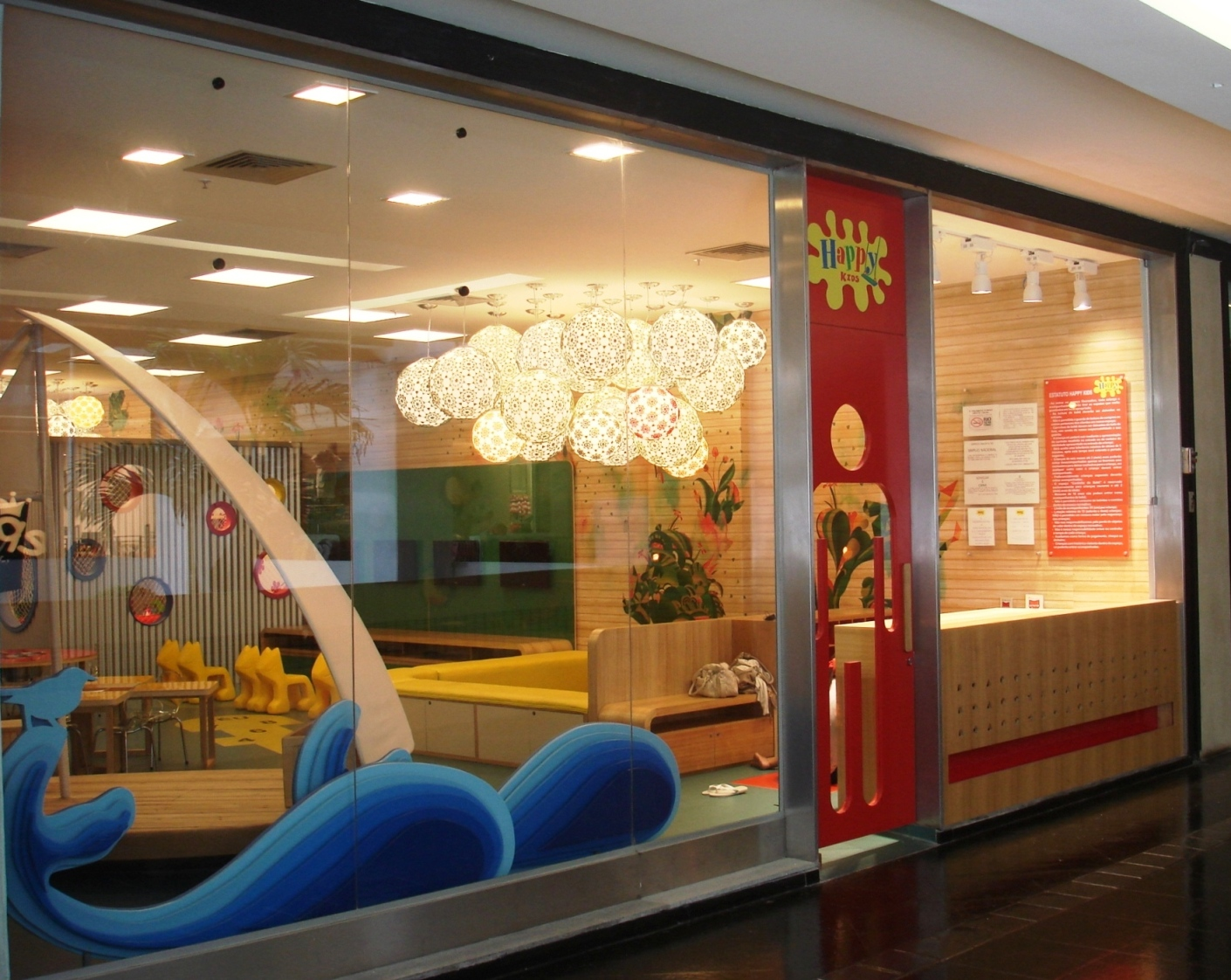 Nova brinquedoteca da Oba! no Fashion Mall
