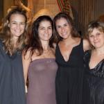 As socias Saskya Beber, Anamaria Andrade Pinto e Ana Luiza Osorio, da Area Objetos e Eileen Worcman, da Alfaias