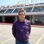 O arquiteto Vicente Giffoni no Lagoon Gourmet, projeto de sua autoria que sera inaugurado neste mes de abril no segundo pavimento do Estadio de Remo[1]