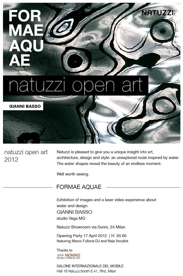 Natuzzi abre exposição de Gianni Basso