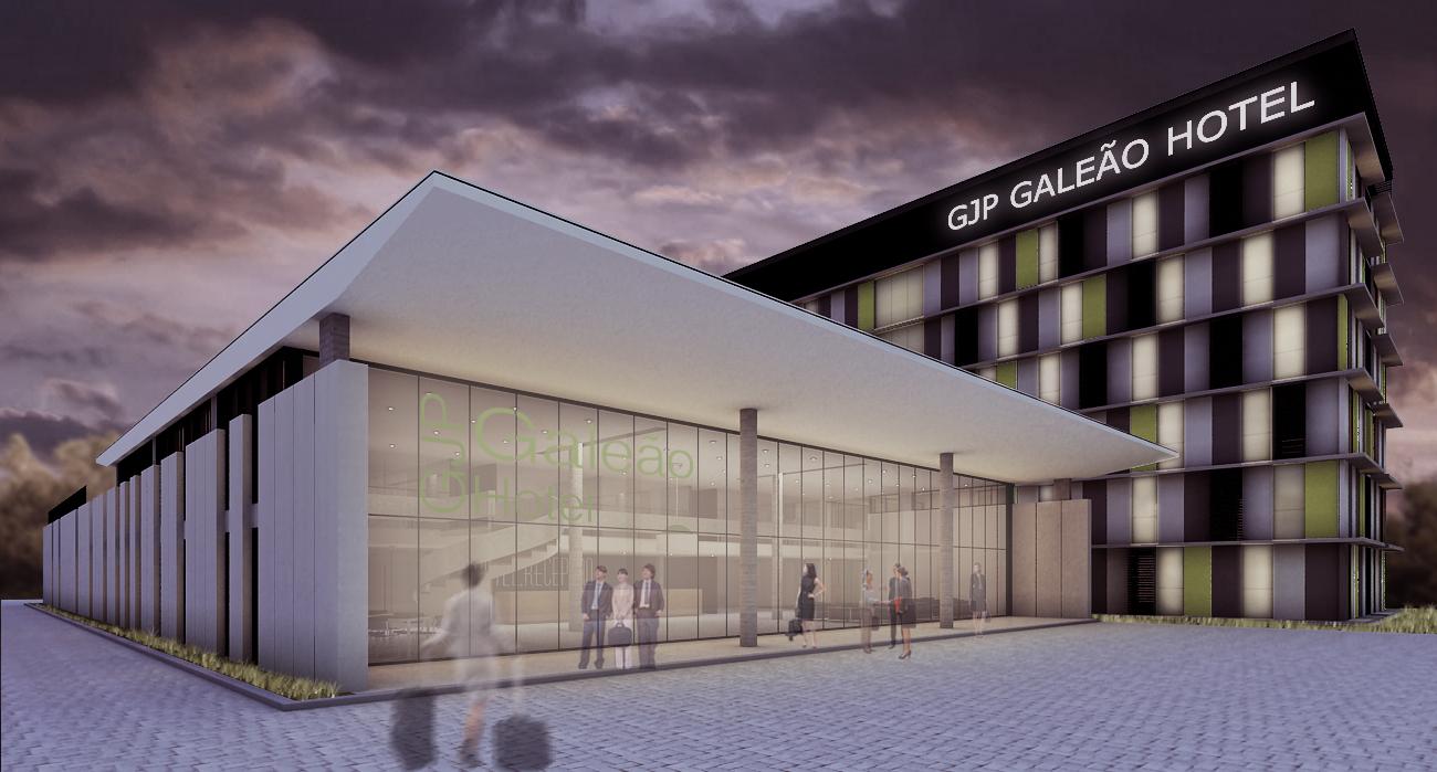 O novo hotel do Galeão