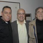 Marcus Lontra, Emilio Kalil e Andrei Midani
