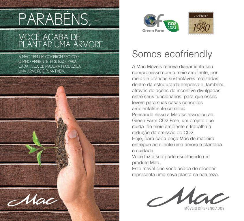 Mac lança campanha EcoFriendly