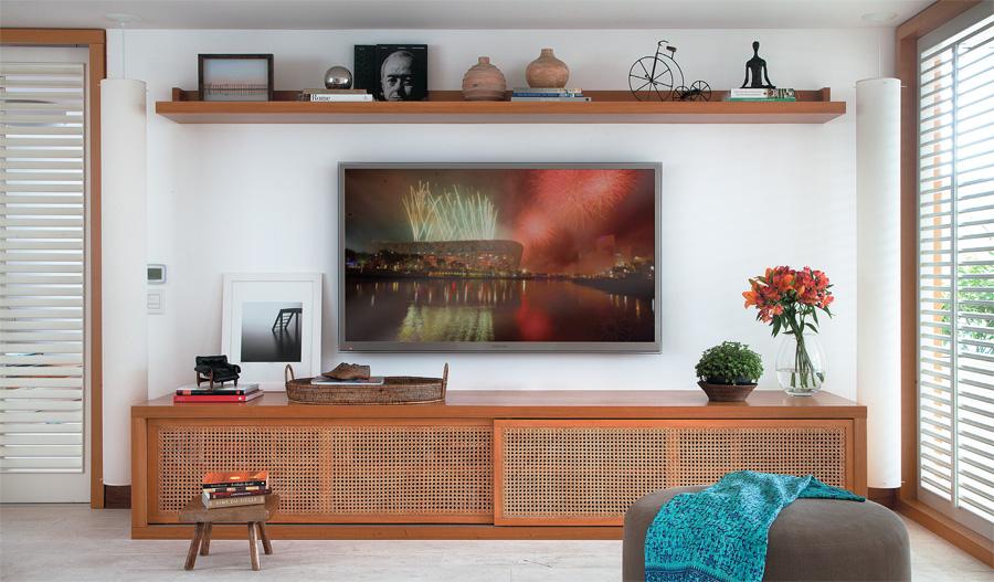 decoracao de sala rack:Home Theater Sala De TV
