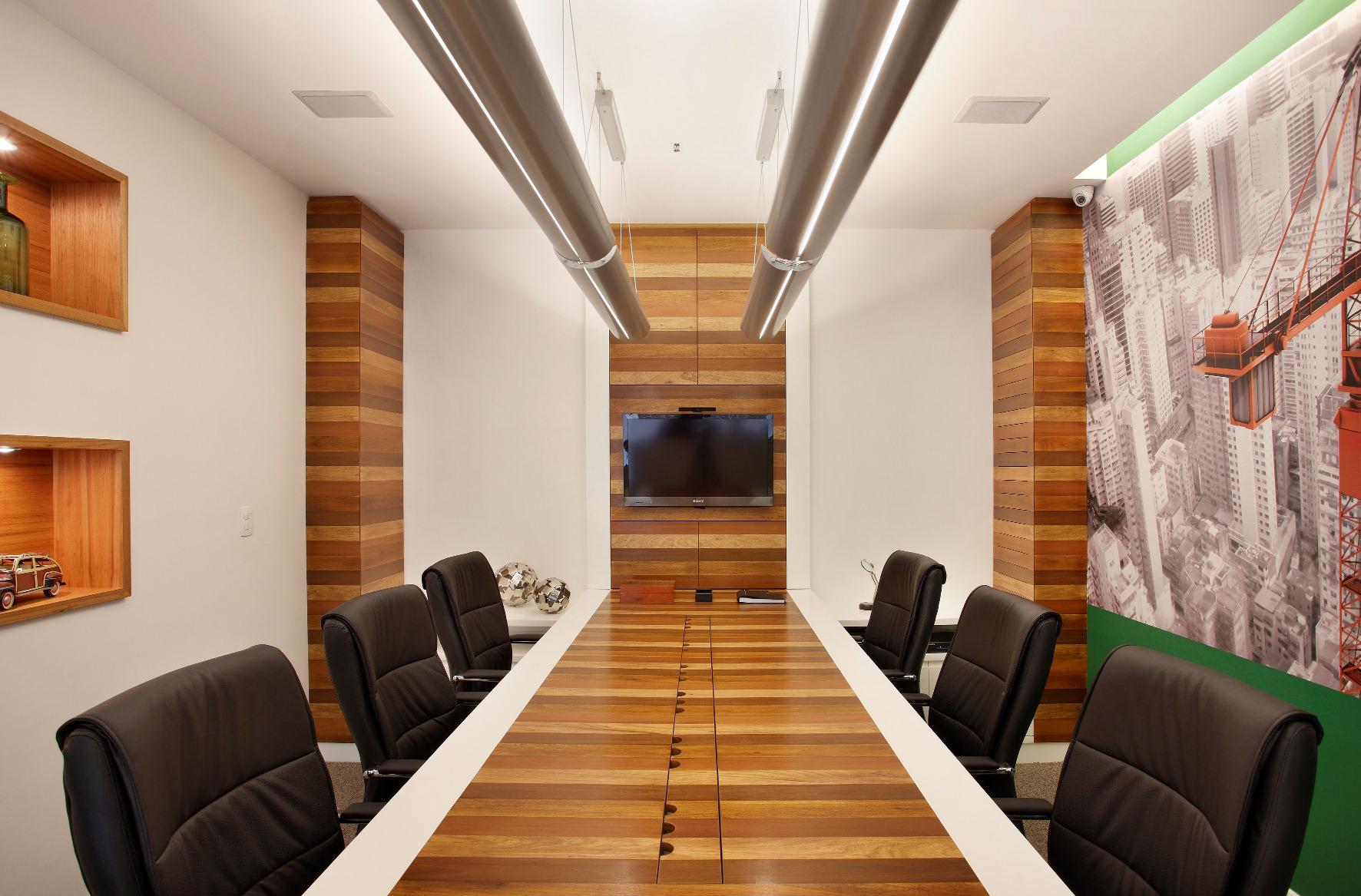 A3 Interiores entrega escritório na Barra