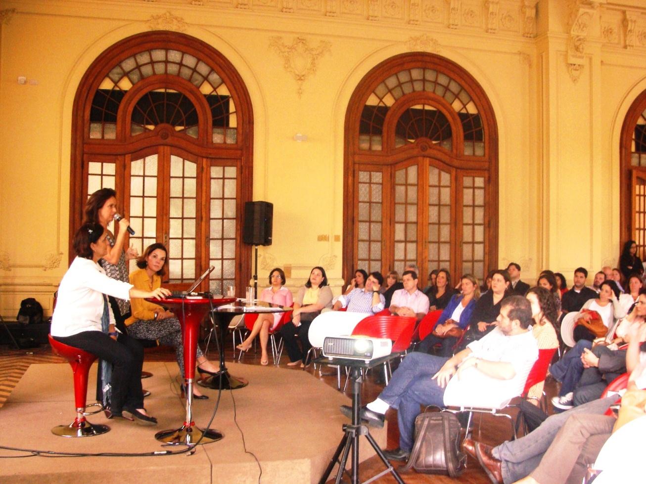 Evento marca o início das obras  da Casa Cor Rio 2012