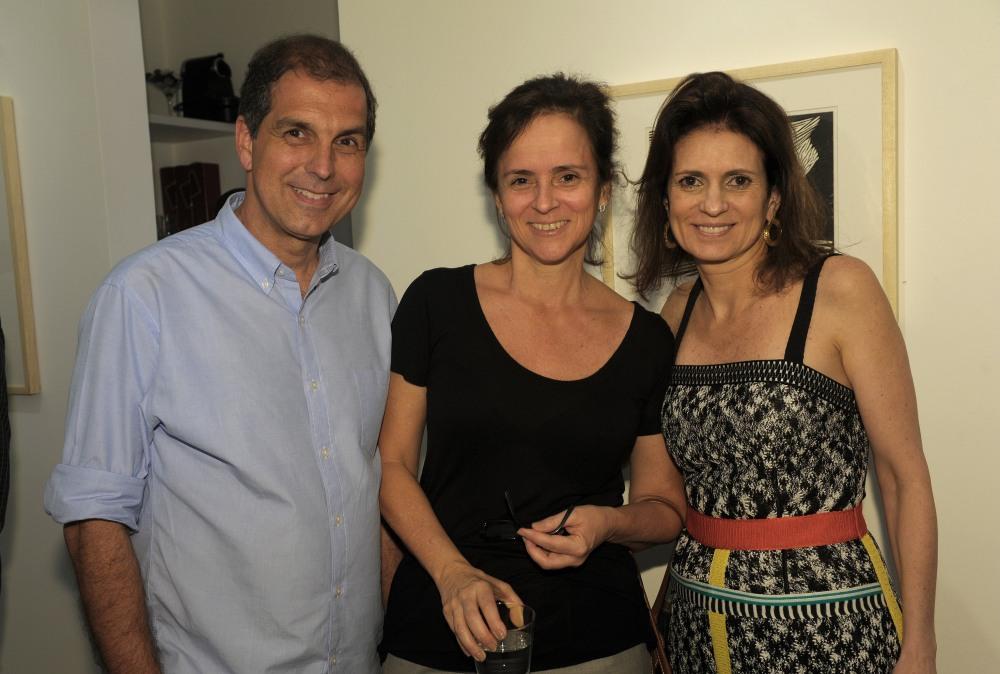 Vernissage da exposição de Dionísio Del Santo