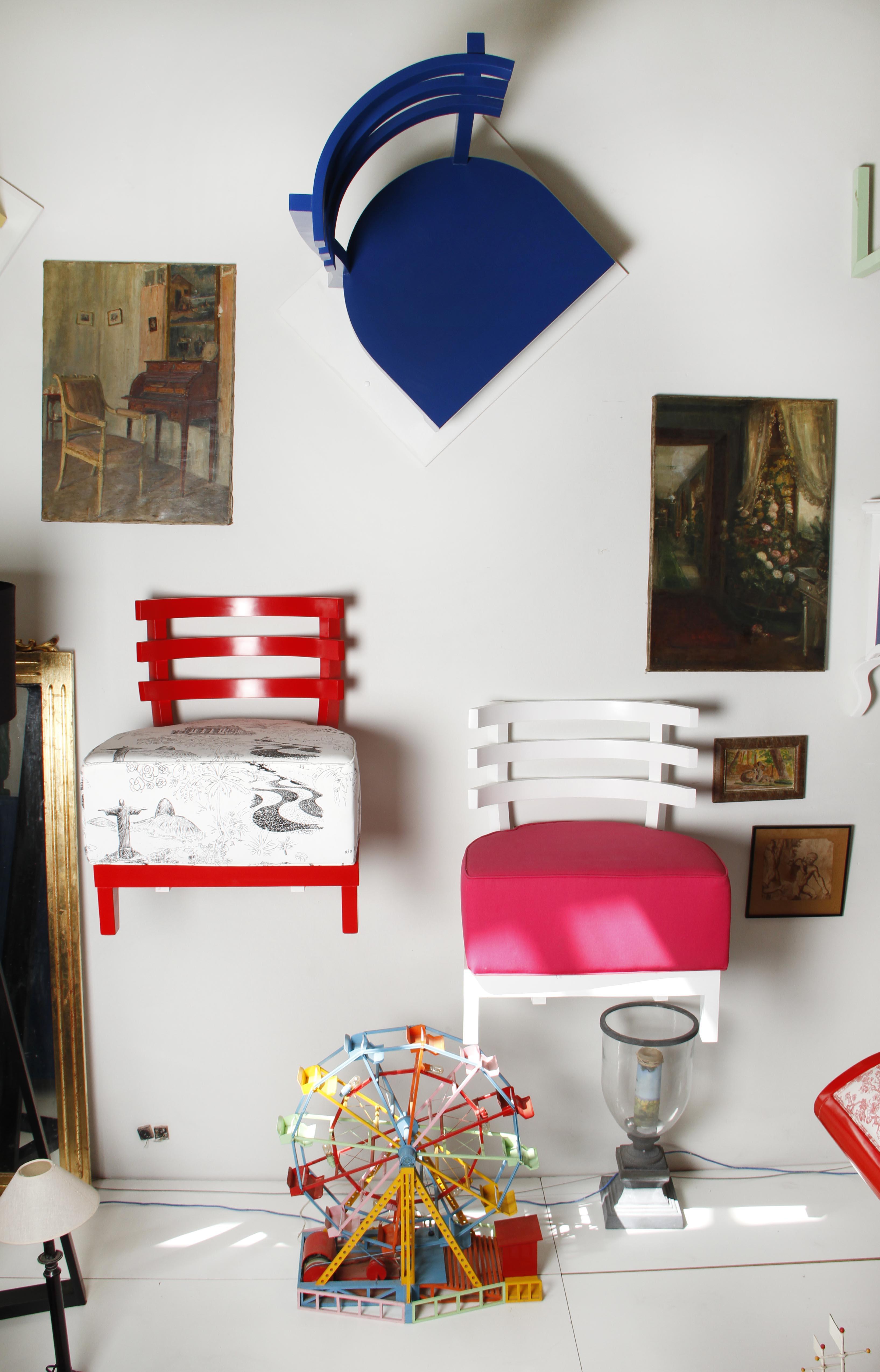 Romaric Büel abre loja de arte e decoração