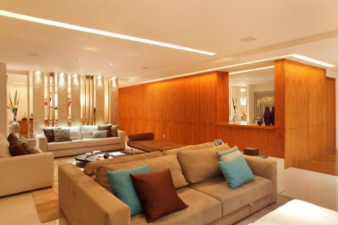 Paula Neder assina apartamento com classe, conforto e sofisticação