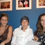 A marchand Luzia Ribeiro  , Wanda Pimentel e a arquiteta Fatima Brizola