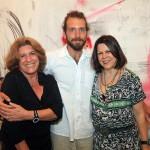 Sonia Castro e Vanda Klabin e o filho e sobrinho A ntonio Bokel