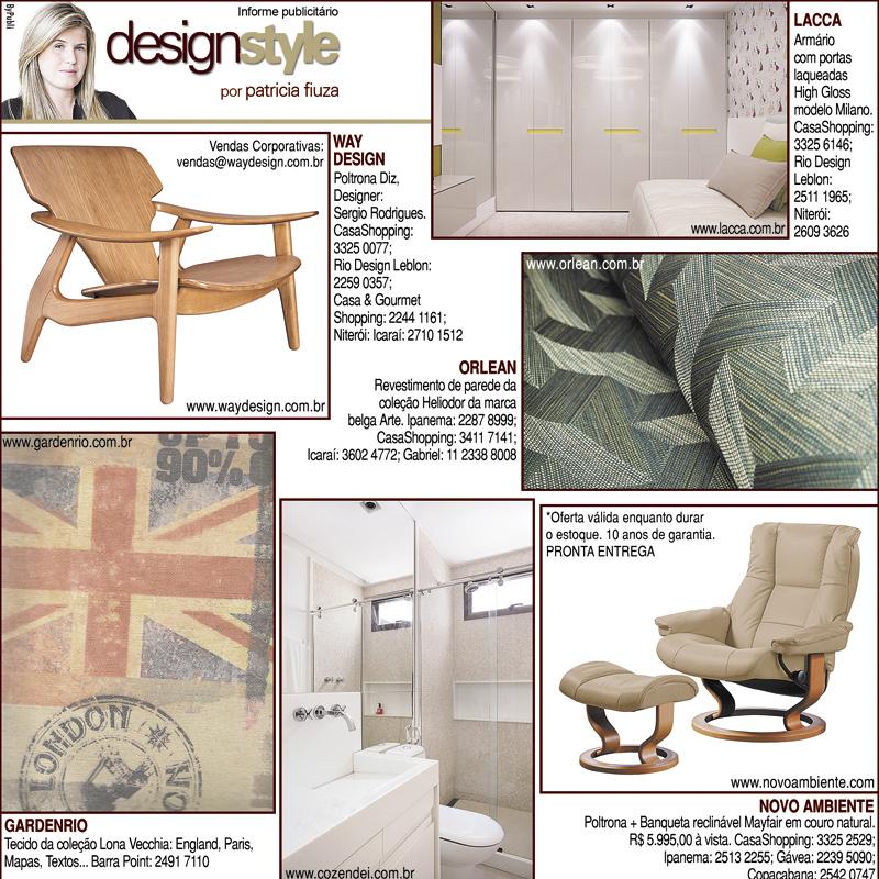Publieditorial Design Style por Patricia Fiuza
