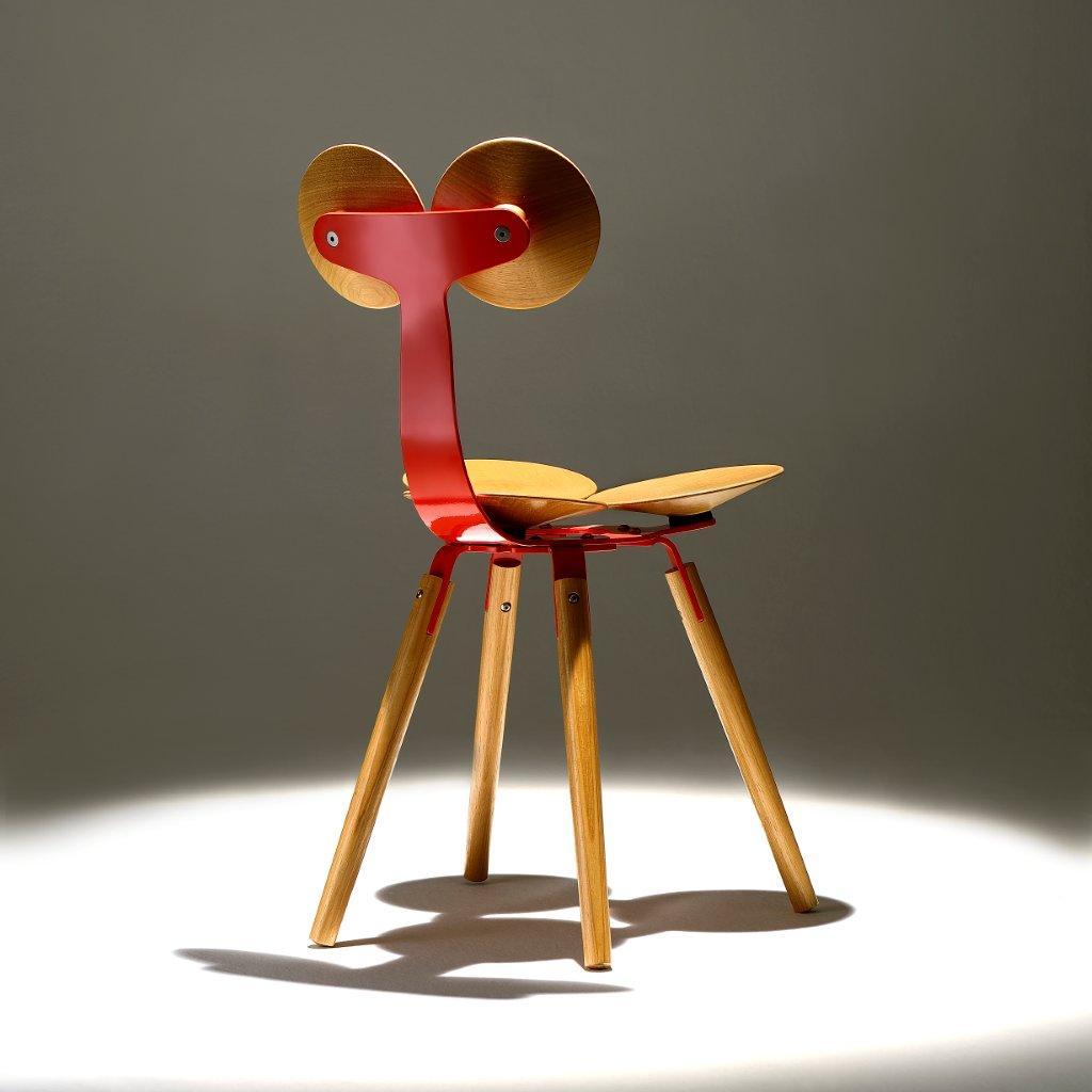 Cadeira Arepitas 43x50x81H pintura em epoxi e madeira Tauari por 1.620  #A87523 1024x1024