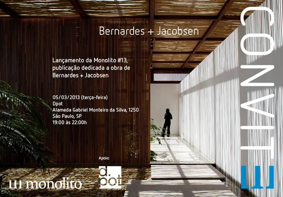 Revista sobre Bernardes + Jacobsen será lançada na próxima semana