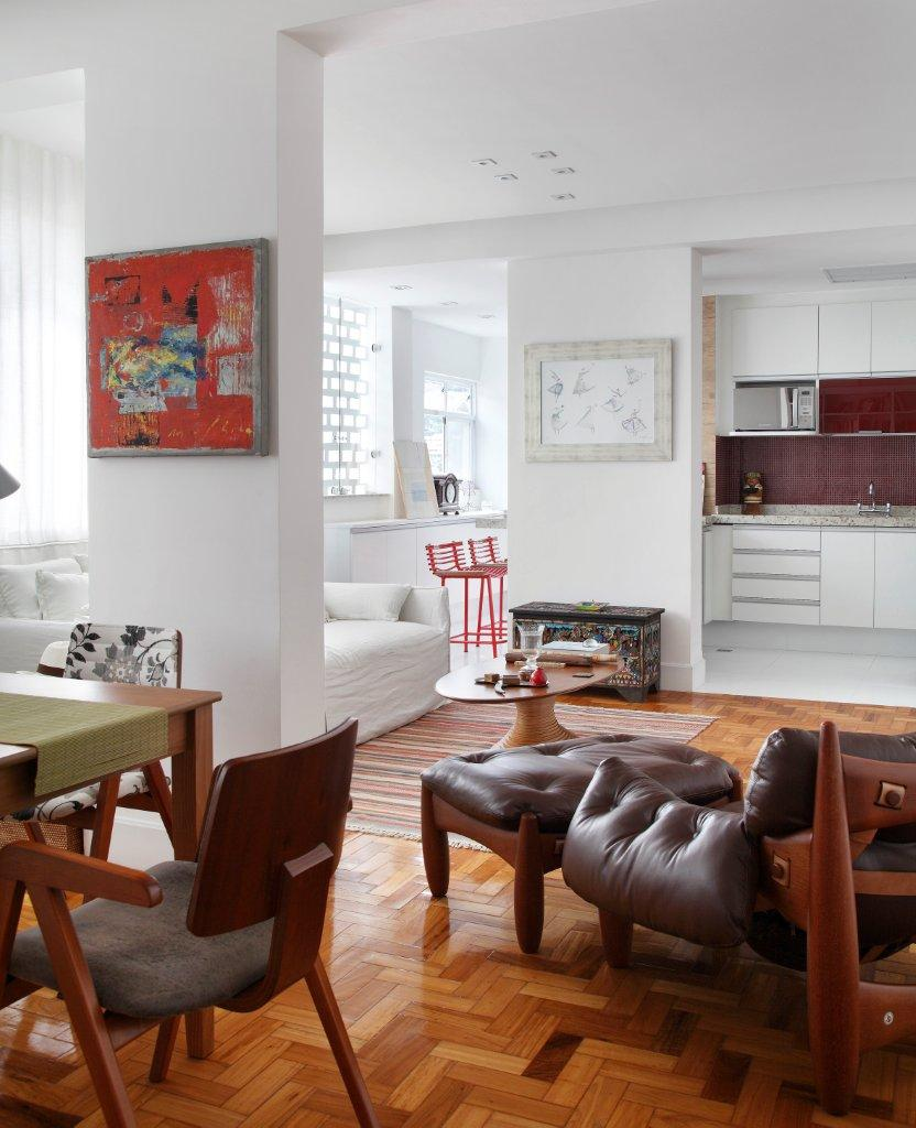 Reforma de apartamento assinada por Ketlein Amorim
