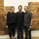 Alessandra Clark, Alexandre Farto e Nuno Franco e Souza