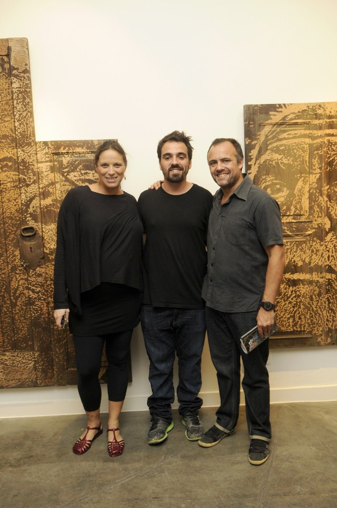 "Abertura da mostra ""Fragmentos"" na Clark Art Center"
