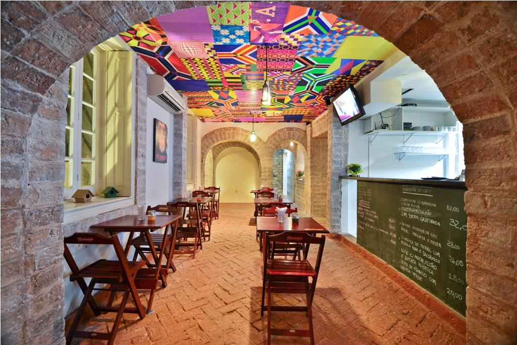 Hostel Boutique, o Meiai ocupa uma casa preservada em Botafogo