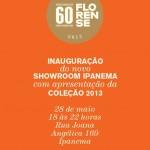 Florense Ipanema convida para lançamento coleção.Lumis!