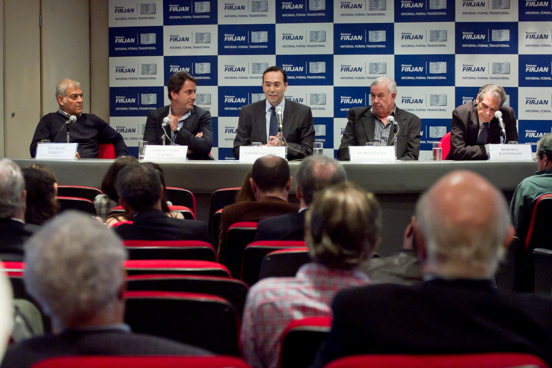Debate para lançamento da Feira Construir 2013