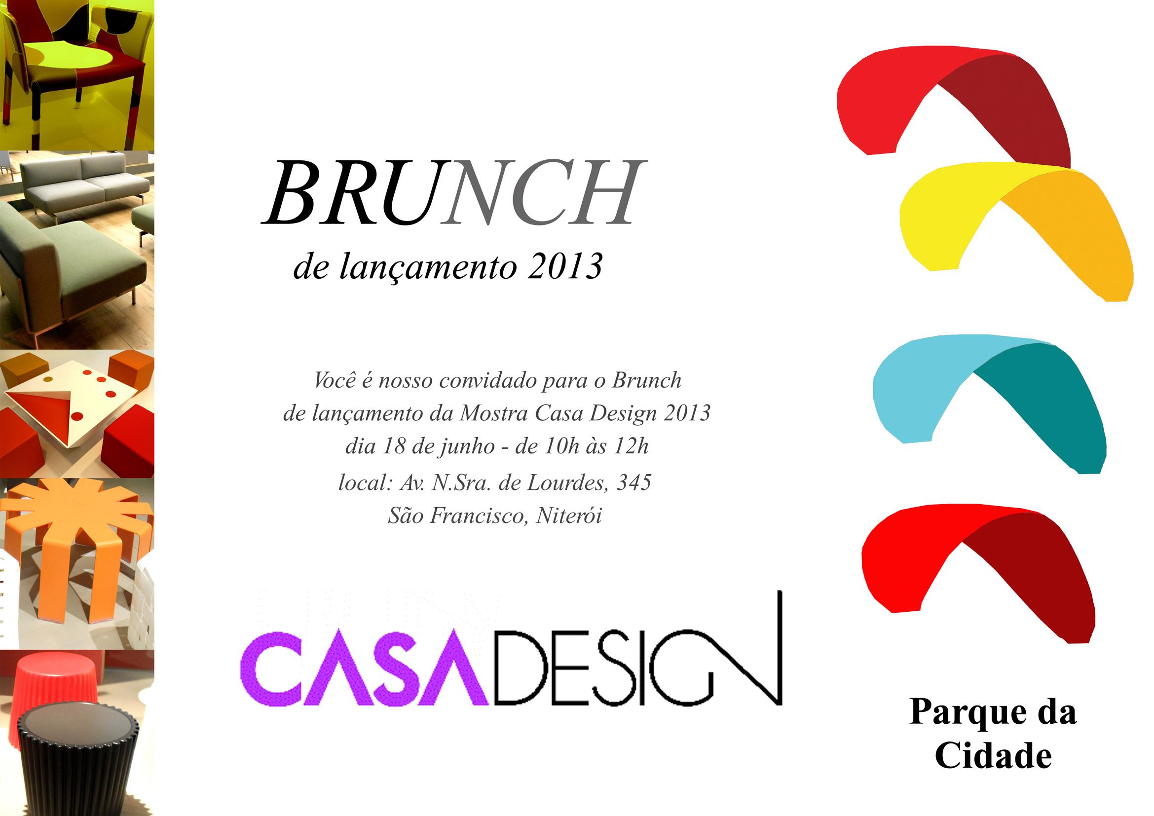 Casa Design 2013 faz brunch de imprensa