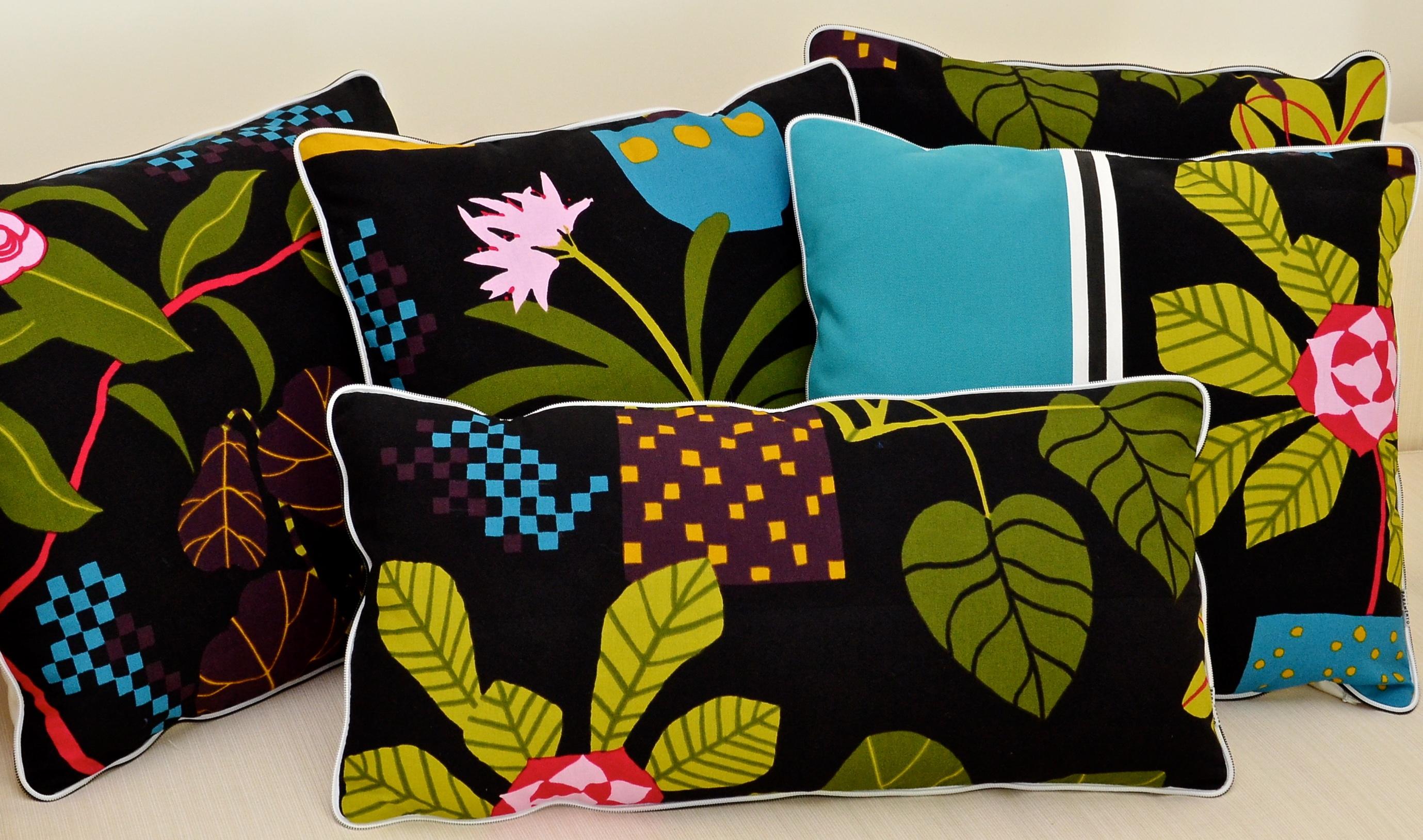 Tecidos da Marimekko na nova coleção da Paramento