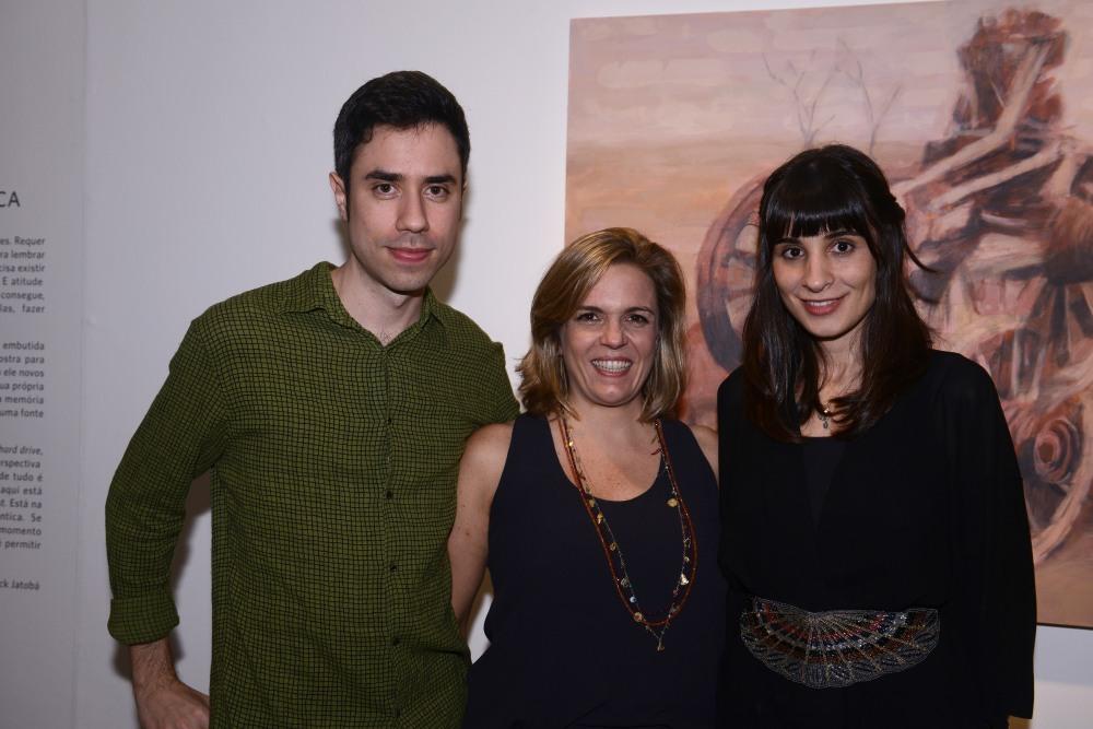 Vernissage de duas exposições na Luciana Caravello