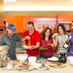 a chef Alessandra Sposetti Caco Borges Nicolas Delfino Rosa Tavares Claudia Souza Santos e Fabio Cardoso-7944