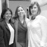 Claudia Azevedo, Fernanda Sixel e Eliane Gonçalves