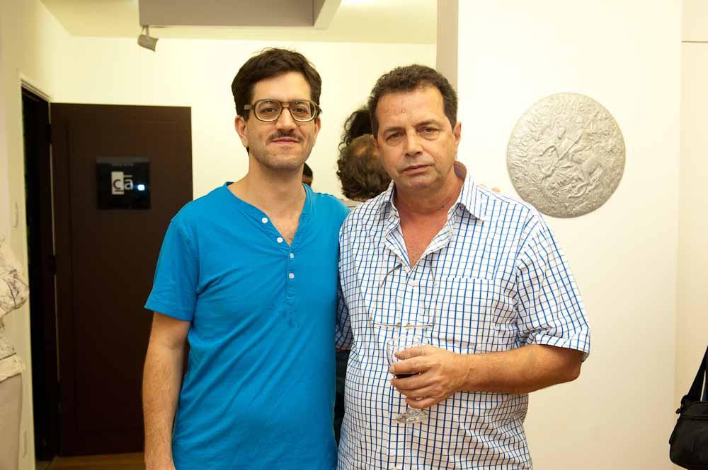 """Abertura de """"Jorge Duarte – Pinturas ontem"""""""