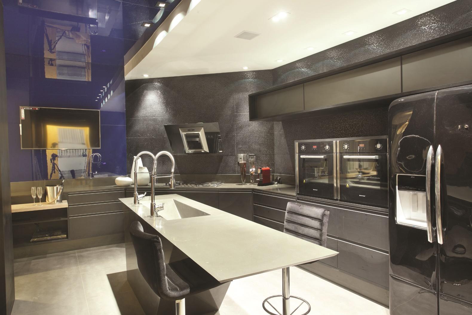 Casa Design e seus destaques COZINHA LUXO – Radar Decoração #977534 1580 1054