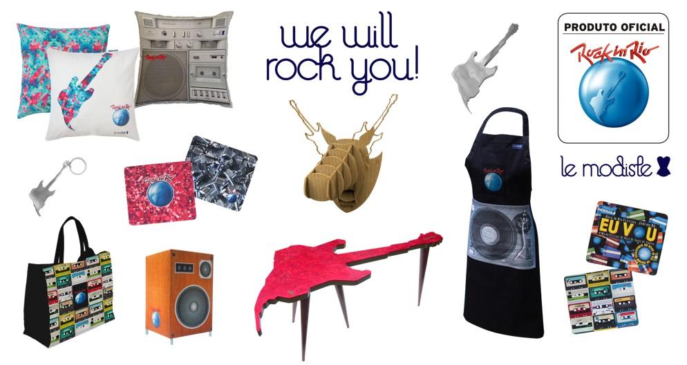 Le Modiste realiza ação e cria coleção Rock in Rio