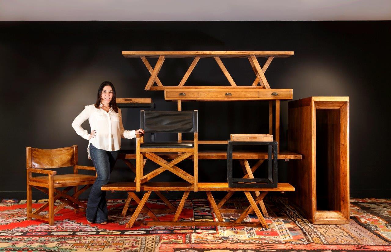 Paola Ribeiro assina linha de móveis para a Rug Hold