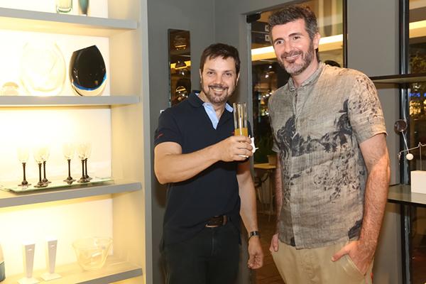 Coquetel com arquitetos e designers no Gabinete Duilio Sartori