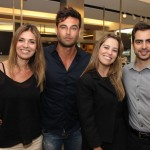 IMG_6117 - Marcia Meira, Angelo Tinoco, Daniella Chaves e o palestrante  Gabriel Auricchio