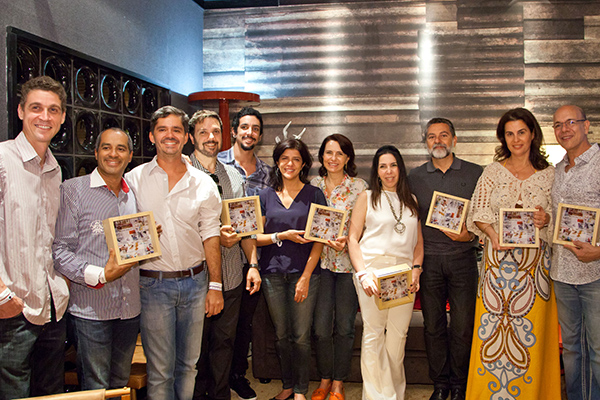 Prêmio do jornal O Globo para os destaques do Casa Cor
