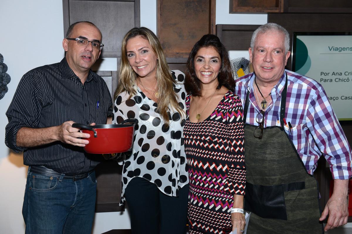 Chicô Gouvêa e Todeschini RJ recebem palestra de Ana Cristina Villaça