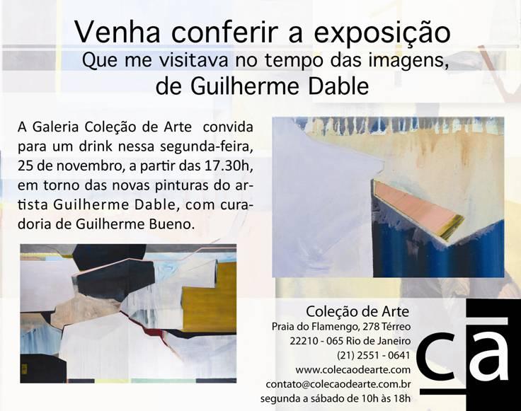 Guilherme Dable expõe na Coleção de Arte