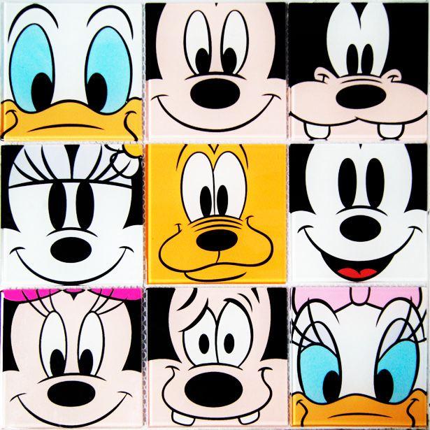 Colortril apresenta pastilhas de vidro Disney