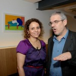 Beatriz Milhazes e Fabian Marcaccio