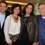 IMG_0108 - Os casais Gelson e Roberta Castellan e Silvana e Adolfo Fuzinato
